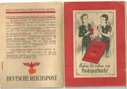 Allemagne Deutschland Livret D'épargne Populaire De La Deutsche Reichspost Banque Postale Post - Banco & Caja De Ahorros