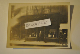 76 Seine Maritime Dieppe Photo Photographie Ancienne Devanture Magasin Tailleur L. LAVIALLE 124 126 Grande Rue - Plaatsen