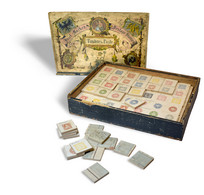 THE EARLIEST RECORDED PHILATELIC GAME: 1868ca. - Collections (en Albums)