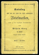 1864, All World Stamps Catalogue By Wilhelm Georg From Basel - Autres