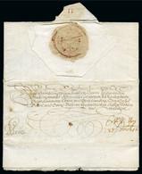 LETTER FROM ARCHDUKE MAXIMILIAN TO THE FUTURE H.R.E. FERDINAND II - ...-1850 Préphilatélie