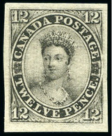 1851, 12d Black, Laid Paper, The Finest Mint Example In Existence Of The 1851 12d Black On Laid Paper, The Most Valuable - Neufs