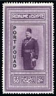 1926 Port Fouad Overprint Mint Nh Set Of Four - Neufs
