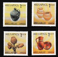 BELARUS BIELORUSSIE 1992     Art   Céramique  Poterie    4-4v. MNH - Wit-Rusland
