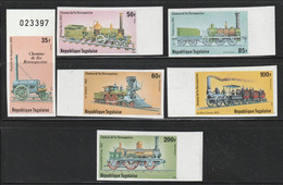 TOGO - NON DENTELE - N°961/2+PA N°390/3 ** (1979) Chemins De Fer - Togo (1960-...)