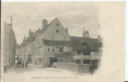 CHABLIS - Maison Pétion Et Rue Du Pont - Chablis