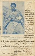 Guinea Espanola Tipo De Mujer De La Isla Del Principe . Women With Baby . Pionnière. - Sao Tome And Principe
