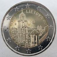 LI20017.1 - LITUANIE - 2 Euros Commémo. Vilnius - Capitale De L'art Et De La Culture - 2017 - Lituania