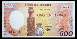 # # # Banknote Gabun 500 Francs 1985 UNC # # # - Gabon
