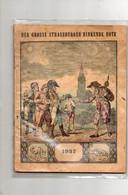 Strassburger Hinkende Bote ( Calendrier De L'Année ) 1937 - Calendars