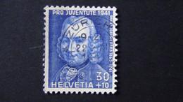 Switzerland - 1941 - Mi:CH 402, Sn:CH B113, Yt:CH 374 O - Look Scan - Usados