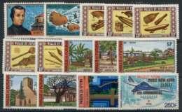 Wallis Et Futuna (1977) N 196 A 207 Et PA 74 A 75 - Ungebraucht