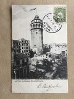 La Tour De Galata, Constantinople. - Turkije