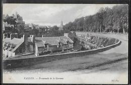 CPA 56 - Vannes, Promenade De La Garenne - Vannes