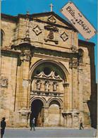 Santo Domingo De La Calzada. - Cpm / Plaza Del Santo Y Fachada De La Catedral. - La Rioja (Logrono)