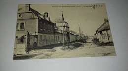 CARTE BUCY LES PIERREPONT GRANDE RUE 1925 - Altri Comuni