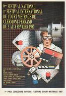 CLERMONT FERRAND - 9° Festival National - 1° Estival International Du Court Métrage - Février 1987  (119957) - Clermont Ferrand