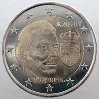 LU20010.1 - LUXEMBOURG - 2 Euros Commémo. Grand-Duc Henri Et Ses Armoiries - 2010 - Luxemburgo