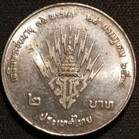 THAILANDE - THAILAND - 2 BAHT 1988 ( 2531 ) - Prince Héritier - KM 222 - Thailand