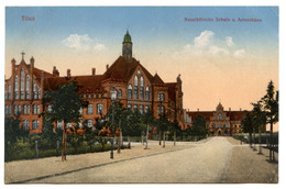 Cpa, Tilsit. 204833. Neustadtische Schule U Armenhaus - RUSSIE  /n 227 - Russia