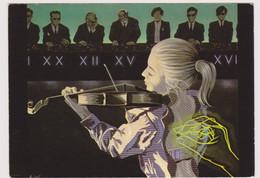 Illustrateur Moldawan  Ed Nugeron N°H 243 - Symphonie Irreguliere Violon - CPM 10.5x15 BE Neuve - Otros Ilustradores