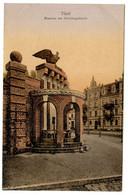 Cpa, Tilsit. M.03214. Brunnen Am Gerichtsgebaude - RUSSIE  /n 229 - Russia