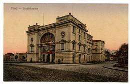 Cpa, Tilsit. M.03222. Stadttheater - RUSSIE  /n 230 - Russia