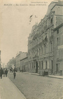 CPA Macon-Rue Gambetta-Maison Fortoul   L36 - Macon