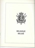 Feuilles Lindner Belgique Années 1972 à 1975 (N° 35 à 50) - Fogli Prestampati