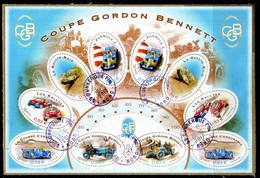 BLOC N° 86 COUPE GORDON BENETT OBLITERE SUR FRAGMENT     (2701) - Used