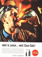 """PUB    """" COCA COLA  """"  1960  ( 16 ) - Afiches Publicitarios"""