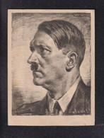DR Hitler Portraitkarte - Oorlog 1939-45