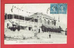 LORIENT 1927 CASINO DE LA PERREIRE ET SIEGE DE LA SOCIETE NAUTIQUE CARTE EN TRES BON ETAT - Lorient