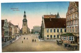 Cpa, Insterburg. N°5 88350. Alter Mark  - RUSSIE  /n 236 - Russia