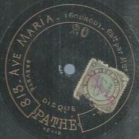 "102 ) 78 Tours 30cm  PATHE 20  "" AVE MARIA "" + "" LE NIL "" BOYER - 78 G - Dischi Per Fonografi"