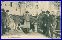 Souvenir De La Foire De BRIVE - Conclusion Du Marché - Animée - Edit. BESSOT Et GUIONIE - Imp. BRIVE - 1921 - Brive La Gaillarde
