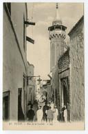 13/ CPA TUNIS 11 Rue De La Casbah    LL - Tunisia