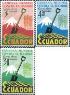 Ref. 309166 * NEW *  - ECUADOR . 1963. WORLD CAMPAIGN AGAINST HUNGER. CAMPA�A MUNDIAL CONTRA EL HAMBRE - Ecuador