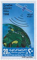 "Ref. 51627 * NEW *  - EGYPT . 1998. THE EGYPTIAN SATELLITE ""NIL SAT"". EL SATELITE EGIPCIO ""NIL SAT"" - Unused Stamps"