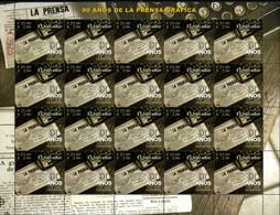 Ref. 184471 * NEW *  - EL SALVADOR . 2005. 90TH ANNIVERSARY OF THE GRAPHIC PRESS. 90 ANIVERSARIO DE LA PRENSA GRAFICA - El Salvador