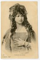 13/ CPA ALGERIE 196 Femme De Bou Saada  J. Geiser  Alger - Mujeres