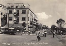 Veneto - Venezia - Chioggia - Sottomarina -  Albergo Italia E Viale Trieste - F. Grande - Nuova - Molto Bella - Chioggia
