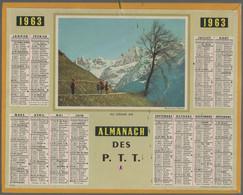 Calendrier De Son Ou De Votre Année De Naissance. 1963. Almanach Des P.T.T. - Formato Grande : 1961-70