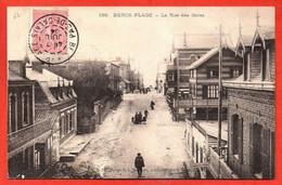 108. BERCK-PLAGE . La Rue Des Bains. - Berck