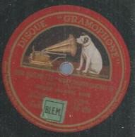 "108 ) 78 Tours 30cm GRAMOPHONE 1096 "" DON QUICHOTTE "" + "" DON QUICHOTTE "" THEODORE CHALIAPINE - 78 G - Dischi Per Fonografi"