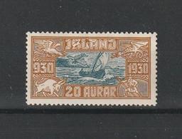 1930 PARLIAMENT 20 AUR MH* - Airmail