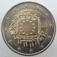 MA20015.3 - MALTE - 2 Euros Commémo. 30 Ans Du Drapeau Européen - 2015 - Malta