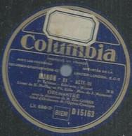 "111 ) 78 Tours 30cm COLUMBIA 15163 "" MANON XV "" + "" MANON XVI "" Elie COHEN - 78 G - Dischi Per Fonografi"