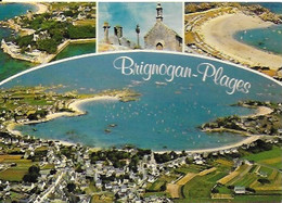 Brignogan - Plages - Hôtel Castel Régis, Chapelle Pol - Brignogan-Plage