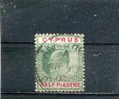 Yt 34  Edouard VII 1903 - Chipre (...-1960)